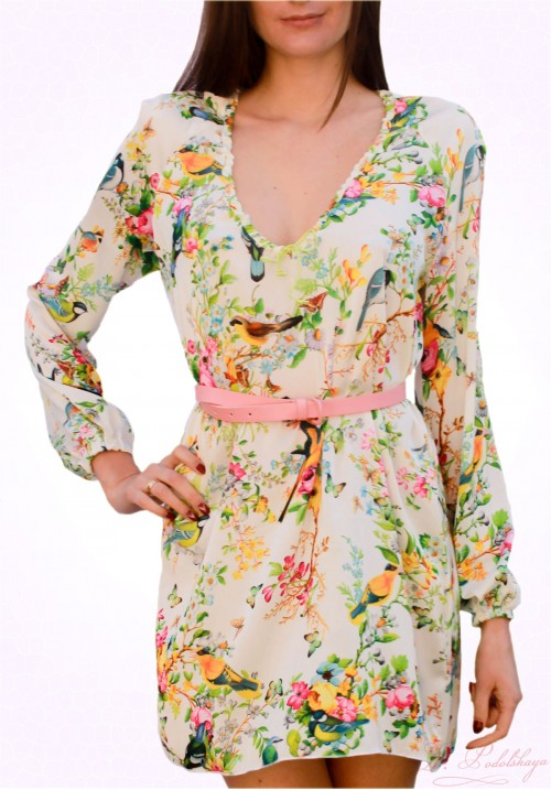 Dress-Shirt LAVANDA