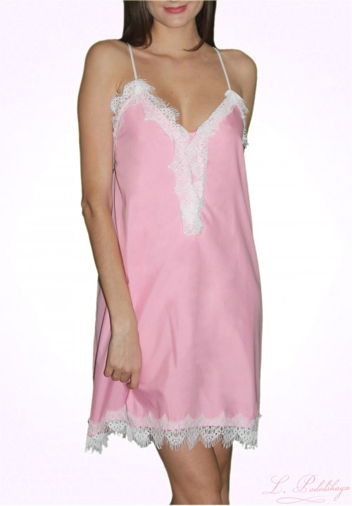Light Dress With Lace CANDY