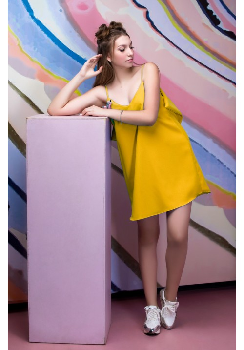 Wing Dress TULI YELLOW