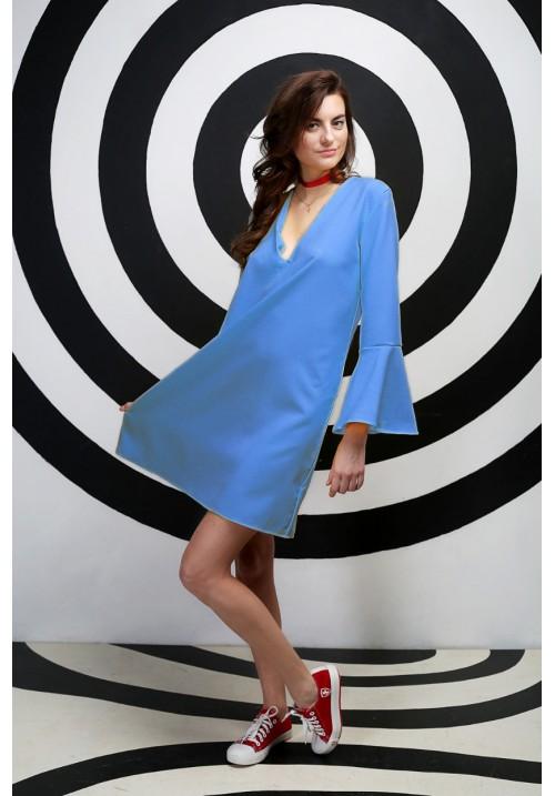 Dress LION BLUE