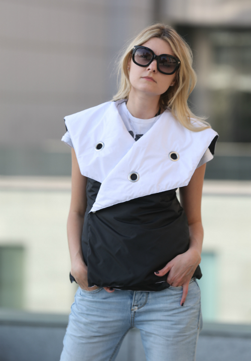 Color Block Vest KARRI
